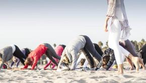 Corporate Yoga Instructor Catherine Tingey Santa Monica Los Angeles
