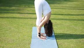 Private yoga instructor Catherine Tingey