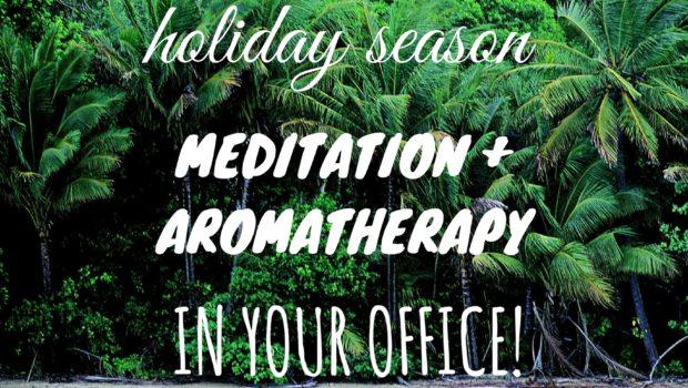Beat the Holiday Blues Corporate Yoga Santa Monica