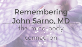 Private Yoga Instructor Santa Monica Los Angeles Remembering John Sarno MD