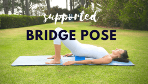 Private Yoga Instructor Los Angeles Santa Monica Brentwood Pacific Palisades Bel Air Venice Marina del Rey Supported Bridge Pose