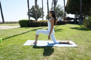Private Yoga Instructor Los Angeles Santa Monica Low Lunge