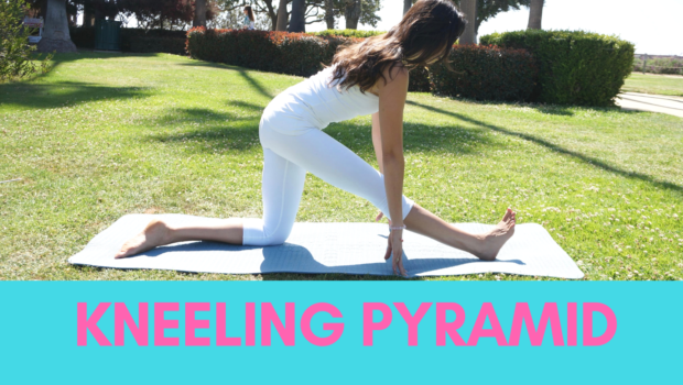 Private Yoga Instructor Santa Monica Los Angeles Kneeling Pyramid