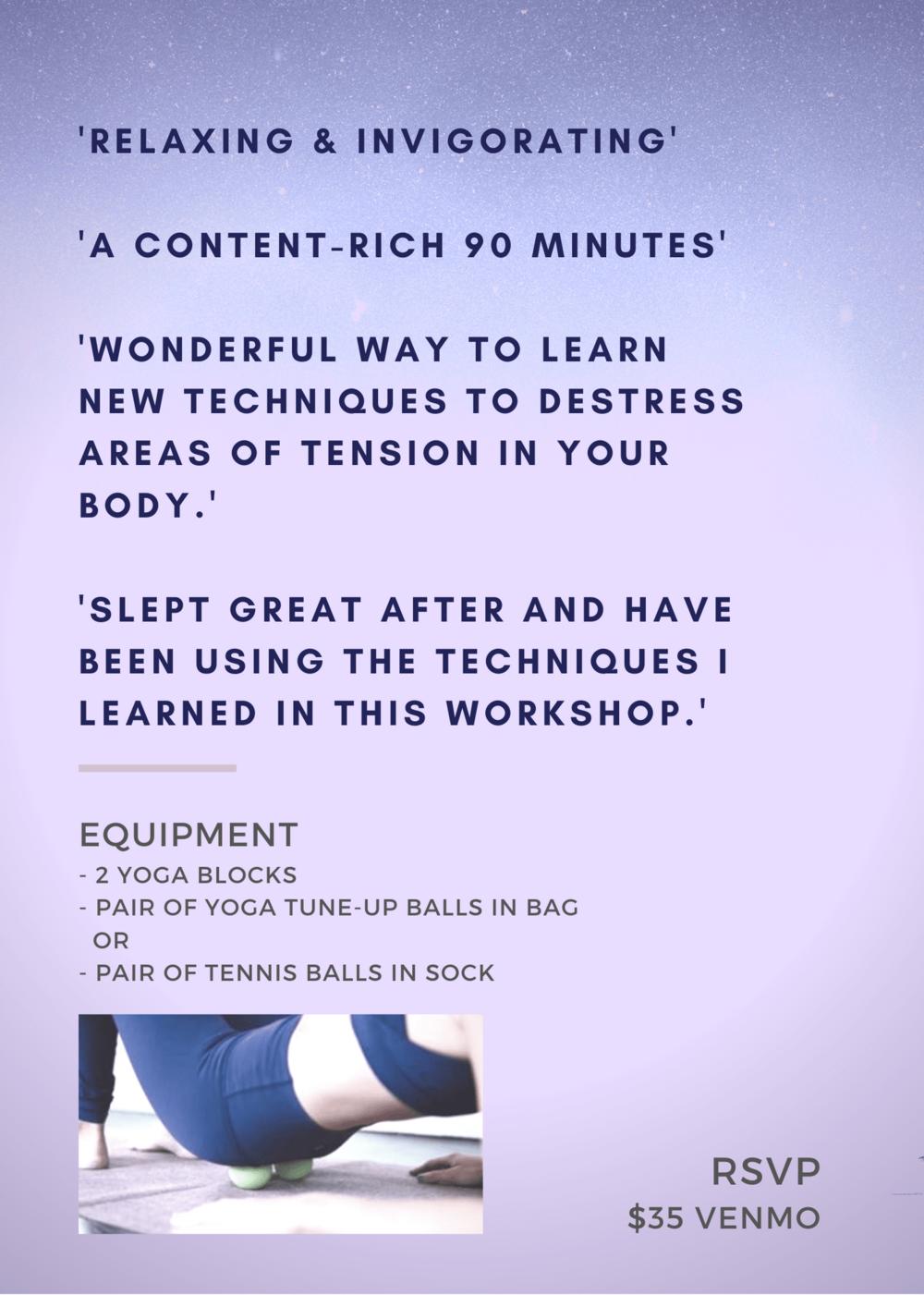 Private-Yoga-Instructor-Santa-Monica-Los-Angeles-Myofascial-Release-Workshop-Feb-27