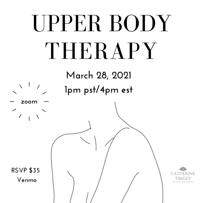 Private Yoga Instructor Santa Monica Los Angeles Upper Body Therapy